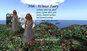 This one really brought out the fae in me.... One of my first designs created in November of 2008.